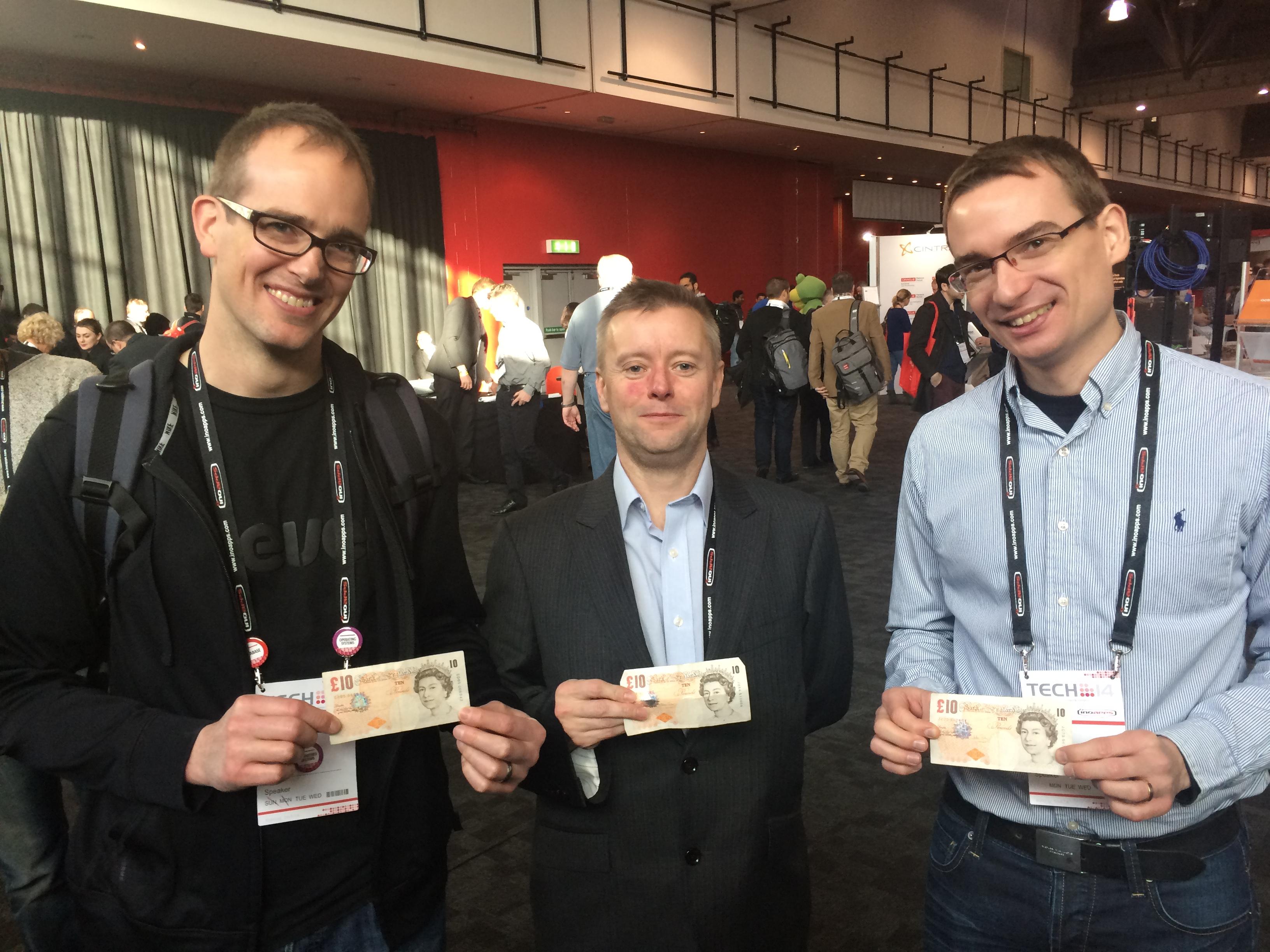 The Three Martins at UKOUG Tech14