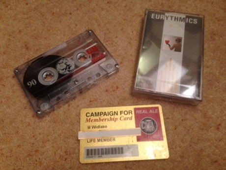 The joy of pre-recorded and blank cassette tapes