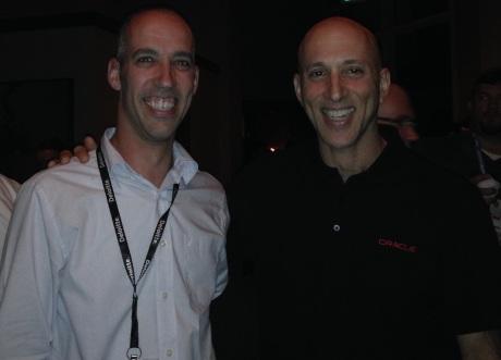 Liron Amitzi and Steven Feuerstein