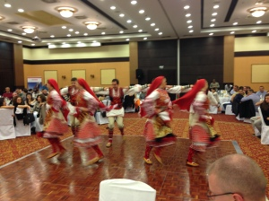 Traditional Dancing is a Traditional Entertainment (and my shot is traditionally blurry!)