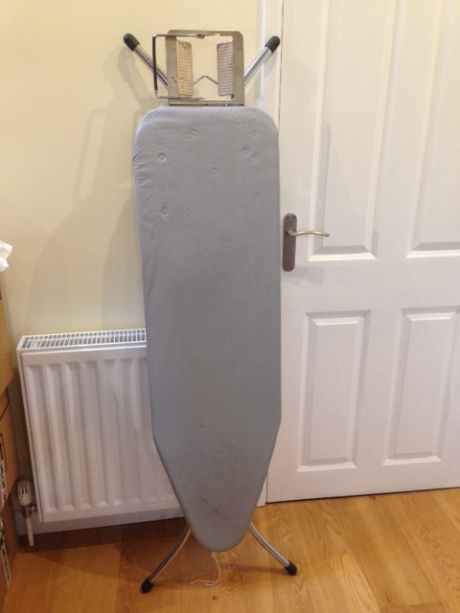 And we still have the ironing board!