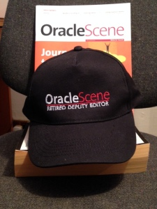 I take of my OS deputy editor hat - and they give me one to keep :-)
