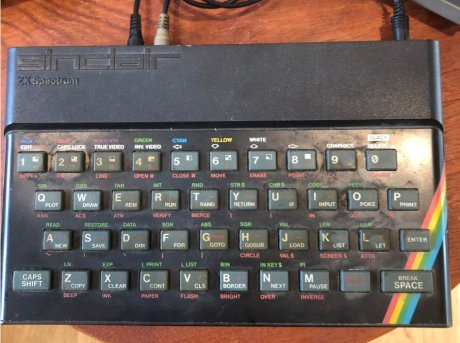 Picture of a Spectrum home computer